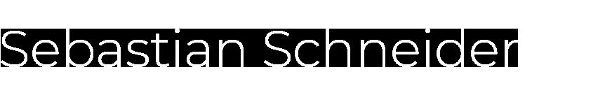 Sebastian Schneider - Freelance Art Direktor & Motion Designer